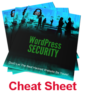WordPress Security Cheat Sheet
