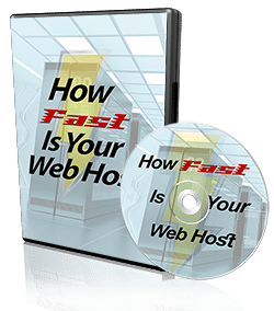 How Fast Is Your Web Host dvd image