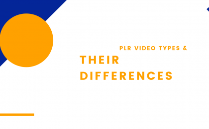PLRVD PLR Video Types and Their Differences