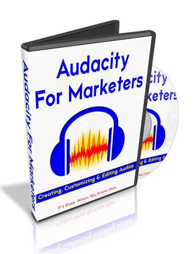 Audacity For Marketers dvd case image